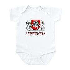 Cute Lietuva Infant Bodysuit