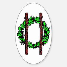 Druids Oval Sticker (10 pk)