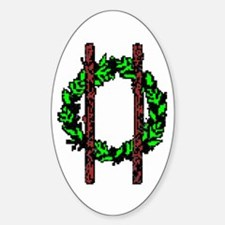 Druids Oval Decal
