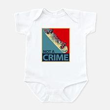 Funny Sk8 Infant Bodysuit