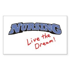 Nursing - LTD Rectangle Decal