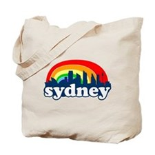 Sydney Rainbow Skyline Tote Bag