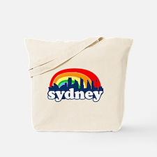 Sydney Rainbow Skyline Tote Bag