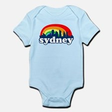 Sydney Rainbow Skyline Infant Bodysuit