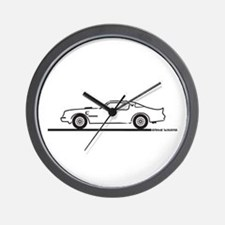 1977-79 Pontiac Trans Am Wall Clock