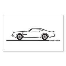 1977-79 Pontiac Trans Am Rectangle Decal