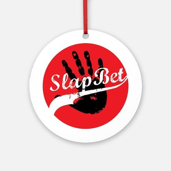 Slap Bet Ornament (Round)
