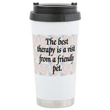 Best Therapy is a Visit Travel Mug