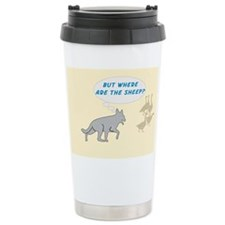 Where Are The Sheep? v3 Travel Mug