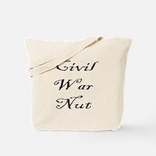 Civil War Nut Tote Bag