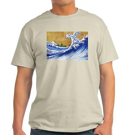 Beautiful Ocean Waves Light T-Shirt