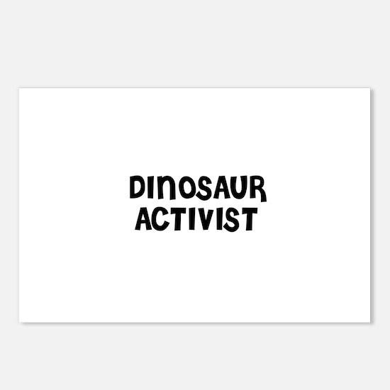 DINOSAUR ACTIVIST Postcards (Package of 8)