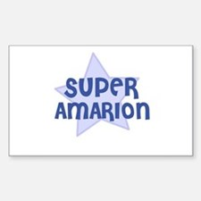 Super Amarion Rectangle Decal