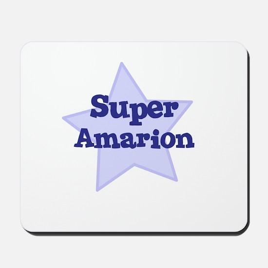 Super Amarion Mousepad