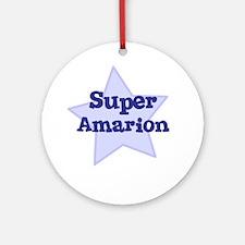 Super Amarion Ornament (Round)