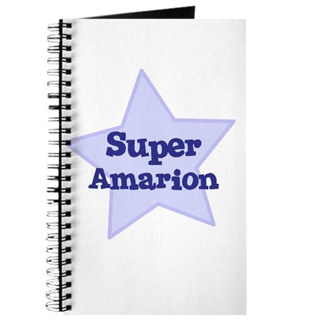 Super Amarion Journal