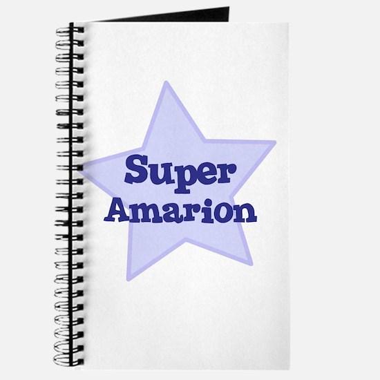 Super Amarion Journal