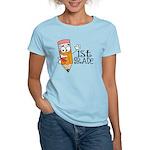 Happy Pencil 1st Grade Women's Light T-Shirt