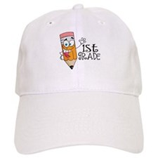 Happy Pencil 1st Grade Baseball Cap