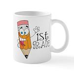 Happy Pencil 1st Grade Mug