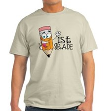 Happy Pencil 1st Grade T-Shirt