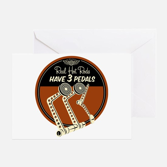 Real Hot Rods Greeting Card