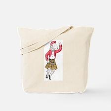 Bedli Scottish Dancer Tote Bag