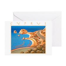 Cyprus, Aphrodite's Rocks Greeting Cards (Pk of 20