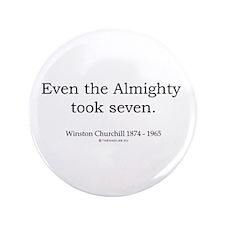 "Winston Churchill 6 3.5"" Button (100 pack)"