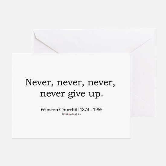 Winston Churchill 7 Greeting Card