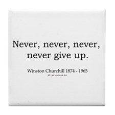 Winston Churchill 7 Tile Coaster