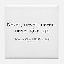 Winston Churchill 7 Tile Coaster