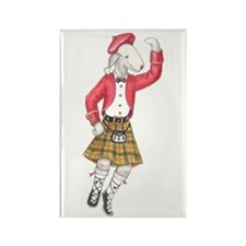 Bedli Scottish Dancer Rectangle Magnet