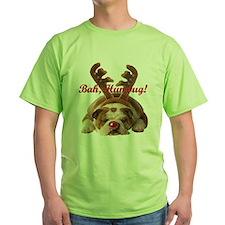 Bulldog Humbug Christmas T-Shirt