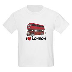 I Love London Kids Light T-Shirt