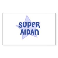 Super Aidan Rectangle Decal