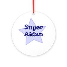 Super Aidan Ornament (Round)