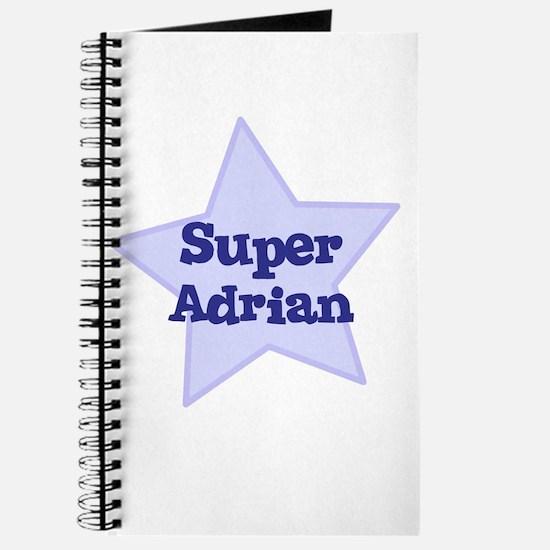 Super Adrian Journal