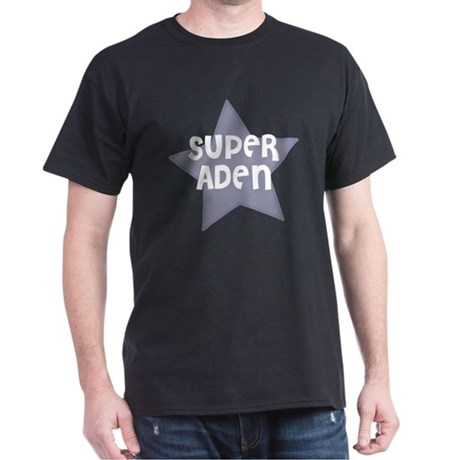Super Aden Black T-Shirt