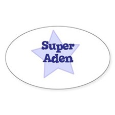 Super Aden Oval Decal