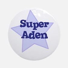 Super Aden Ornament (Round)