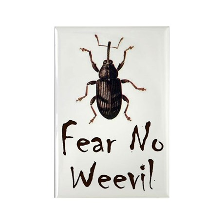 Fear No Weevil Rectangle Magnet (10 pack)