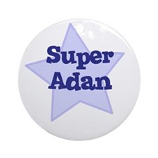 Super Adan Ornament (Round)