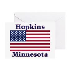 Hopkins Flag Greeting Card