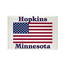 Hopkins Flag Rectangle Magnet