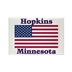 Hopkins Flag Rectangle Magnet (10 pack)