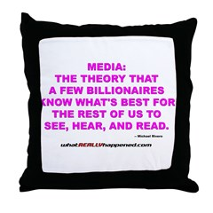 Media Throw Pillow