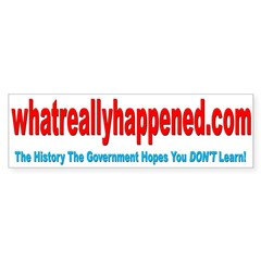 WRH bumper sticker Bumper Bumper Sticker