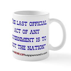 Last Official Act Mug