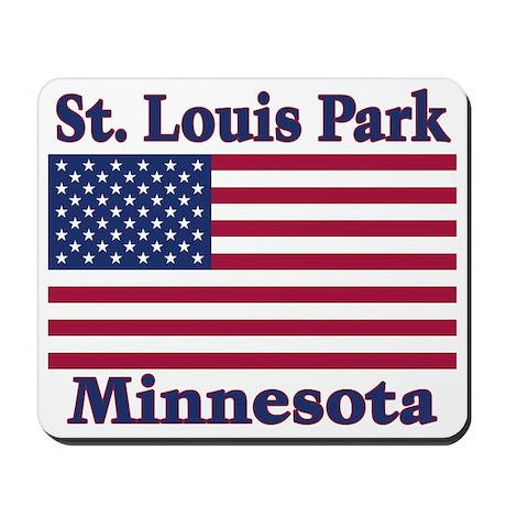 St. Louis Park Flag Mousepad